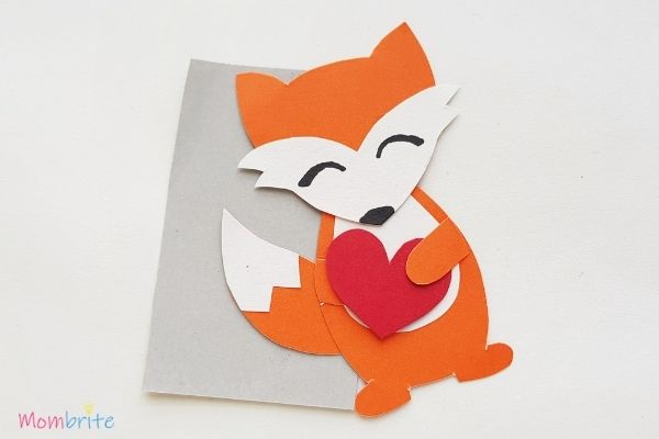 Paper Fox Craft Glue Heart