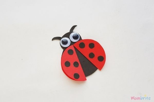 Paper Ladybug Craft (1)