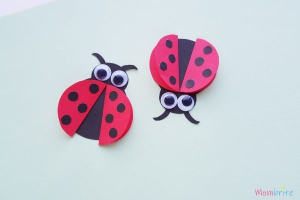 Paper Ladybug Craft (2)
