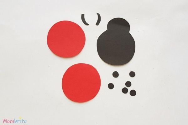 Paper-Ladybug-Craft-Template-Pattern