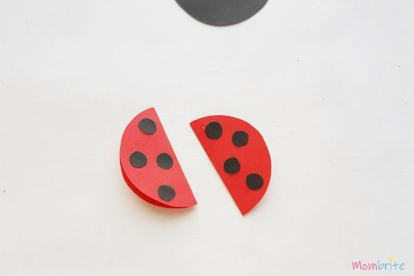 Paper Ladybug Craft Wings (1)