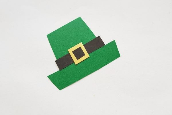 Paper Leprechaun Craft Assemble Hat