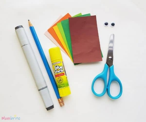 Paper Leprechaun Craft Supplies