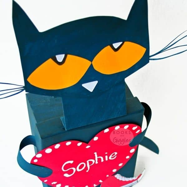 Pete the Cat Valentine Box