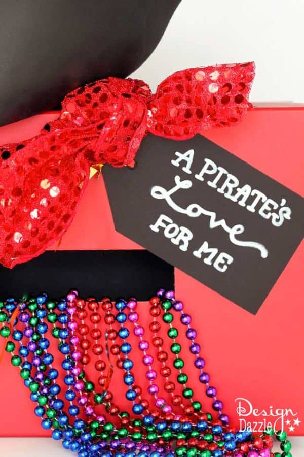 Pirate Valentine's Day Box