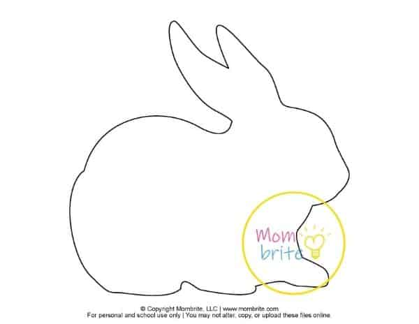 Printable Bunny Templates (4)