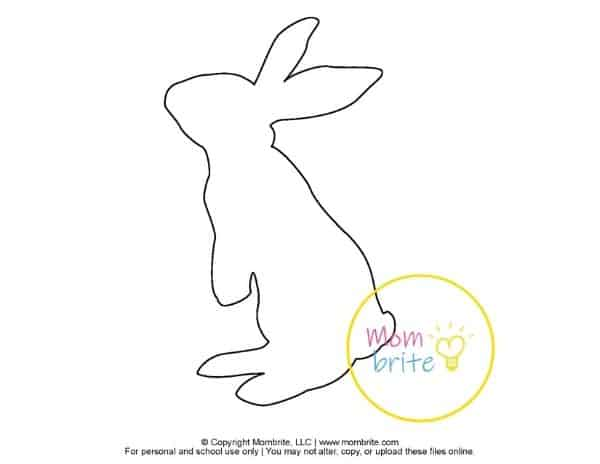 Printable Bunny Templates (5)