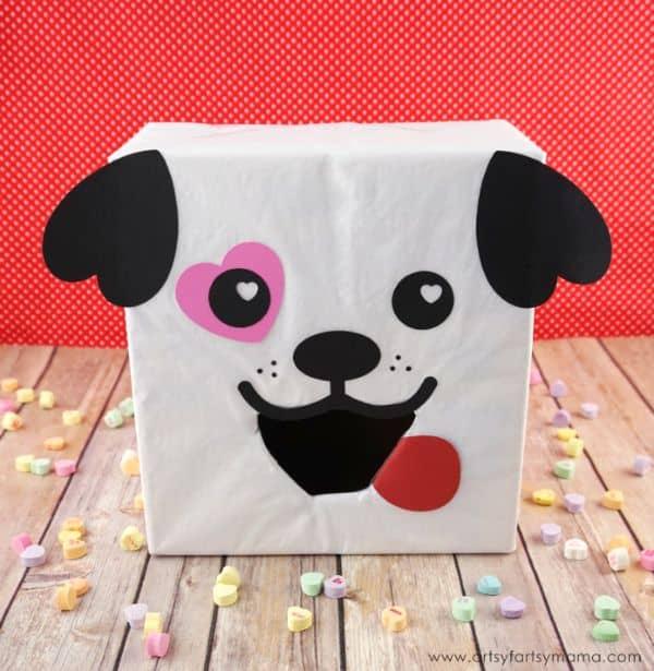 Puppy Dog Valentine Box