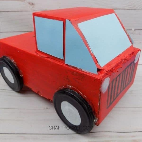 Red Pickup Truck Valentine Box