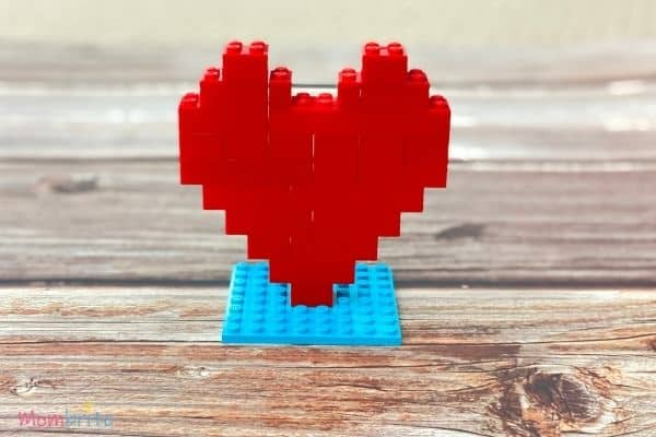 Standing LEGO Heart