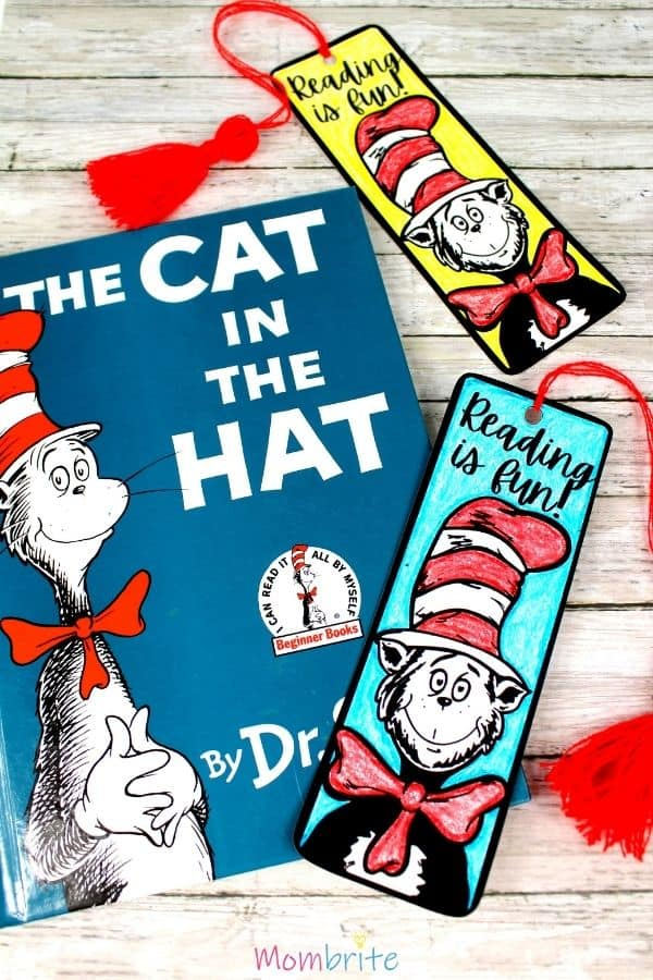 The Cat in the Hat Bookmark