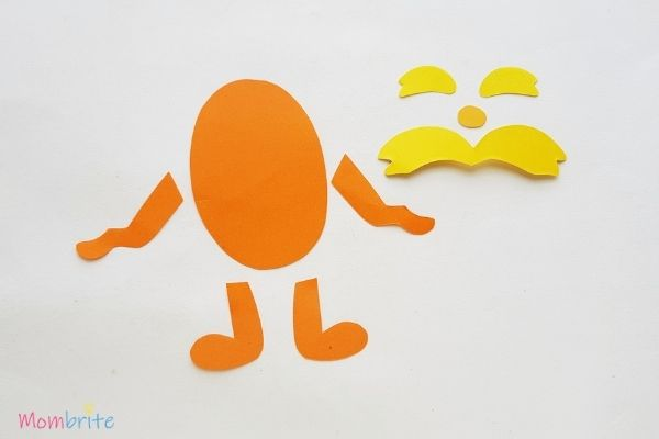 The Lorax Paper Craft Template Patterns