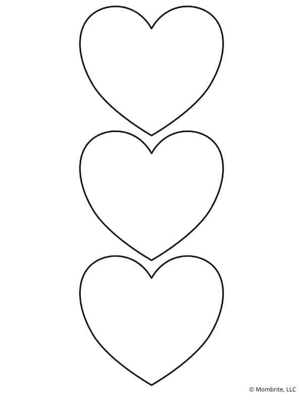 Three Heart Template