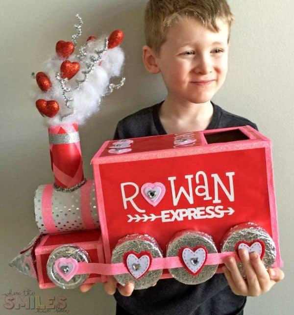 Train Valentine's Day Box