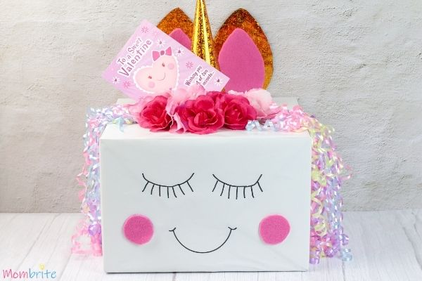 Unicorn Valentine Card Box for Girls (2)