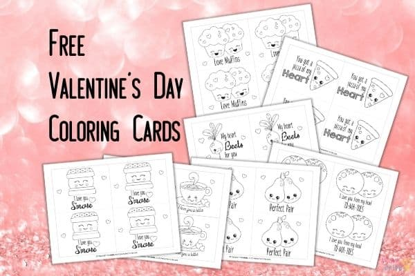 Valentine's Day Coloring Cards Mockup (1)