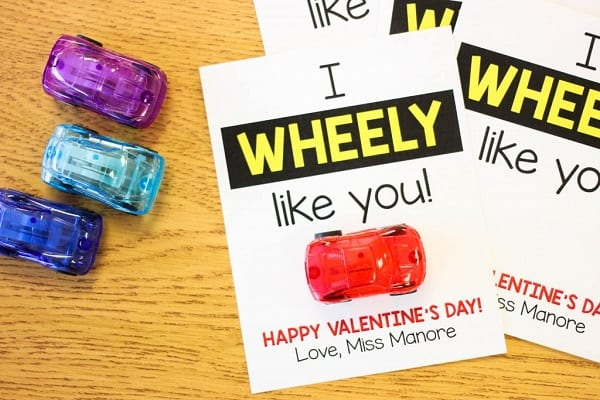 Wheely Like You Valentine