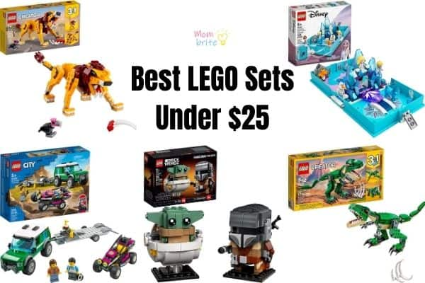Best LEGO Sets under $25