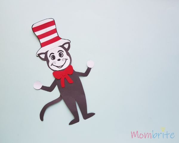Cat in the hat puppet