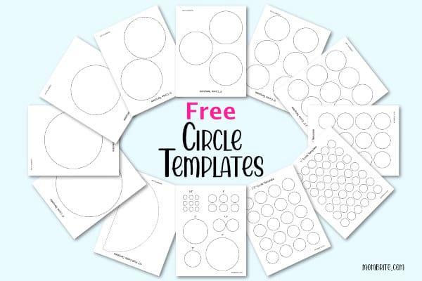 Circle Templates Mockup