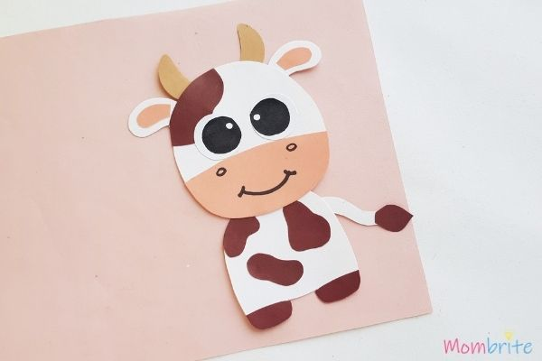 Cow Craft Draw Nose and Mouth