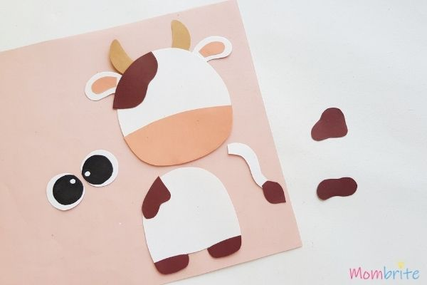 Cow Craft Glue Spots