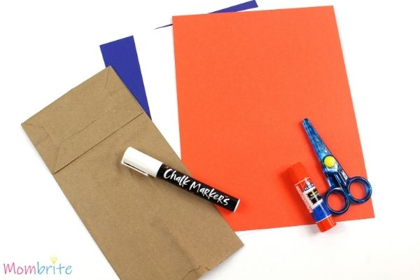 Fox in Socks Paper Bag Puppet Craft Supplies
