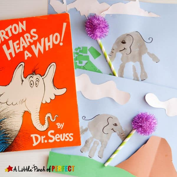 Horton Elephant Painting Craft