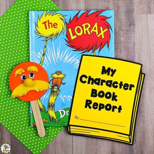 Lorax Inspired Puppet