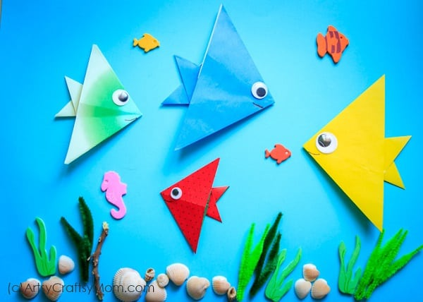 One Fish Two Fish Origami Craft