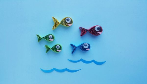 Paper One Fish Two Fish Craft