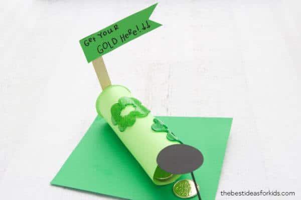 Paper Roll Leprechaun Trap