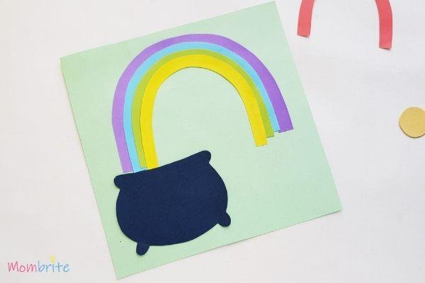 Pot of Gold Craft Assemble Rainbow