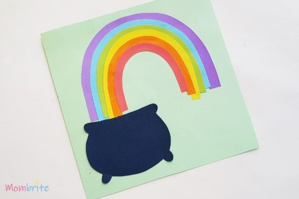 Pot of Gold Craft Finish Rainbow