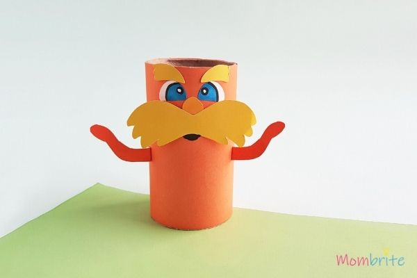 The Lorax Paper Toilet Paper Roll Craft (1)