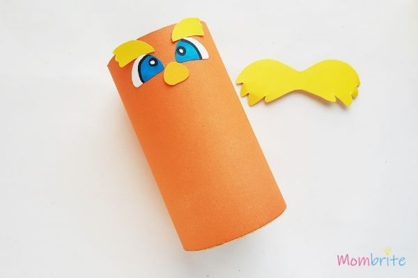 The Lorax Paper Toilet Paper Roll Craft Glue Nose