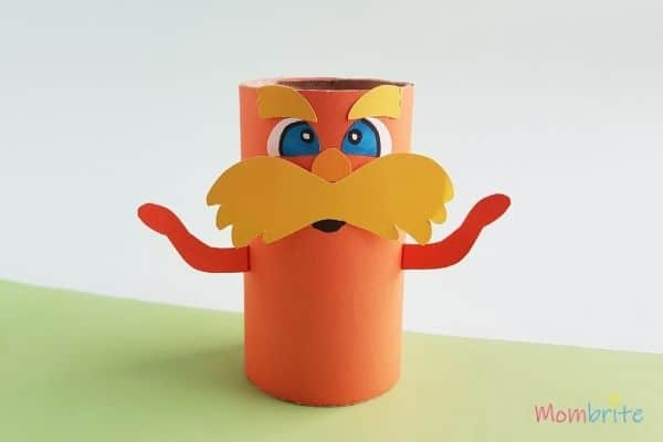 The Lorax Paper Toilet Paper Roll Craft