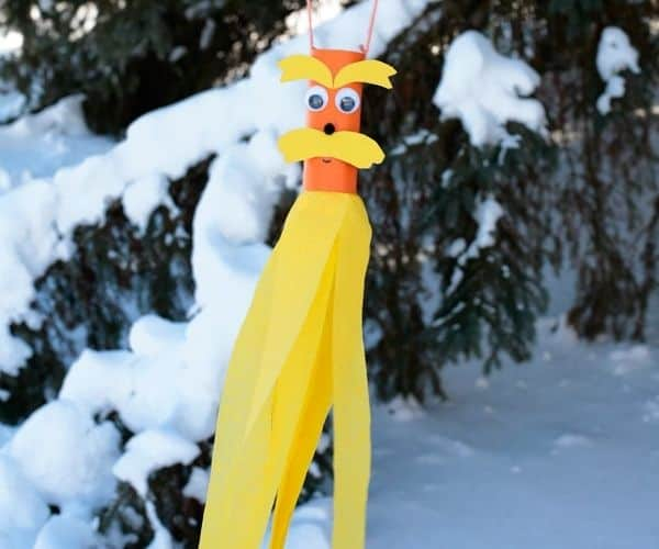 The Lorax Windsocks Craft