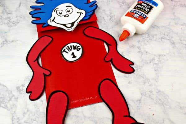 Thing 1 and Thing 2 Puppets
