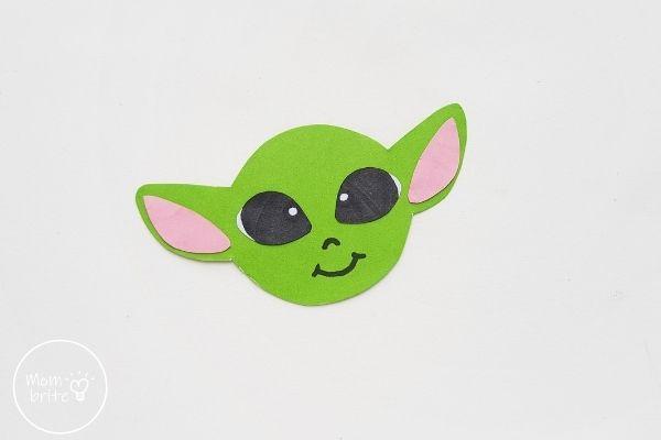 Baby Yoda Assemble Head