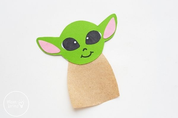 Baby Yoda Glue on Body