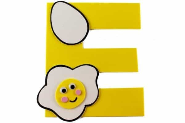 E is for Egg Craft