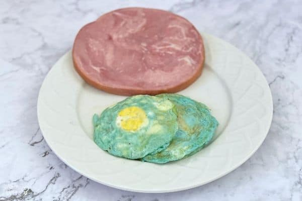 Edible Green Eggs and Ham Experiment