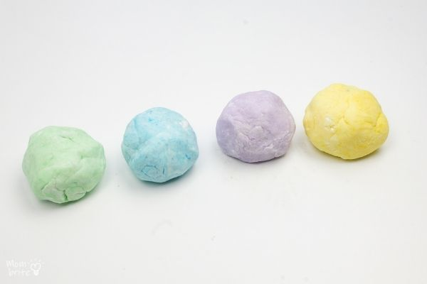 Edible Peeps Playdough Balls