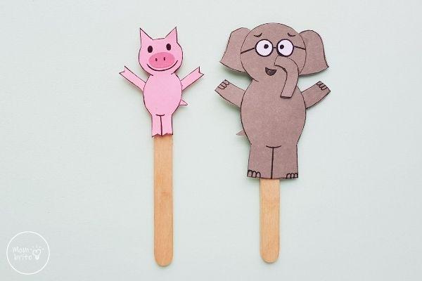 Elephant & Piggie Craft