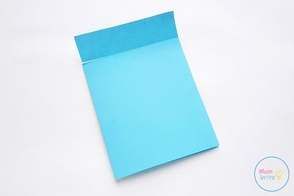 Father's Day Tie Card Cut Slits