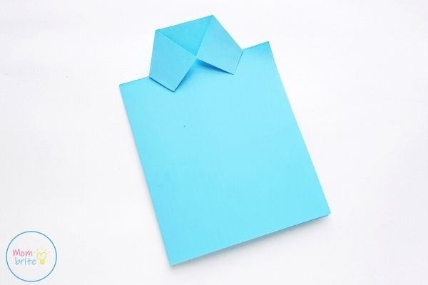 Father's Day Tie Card Fold Collars