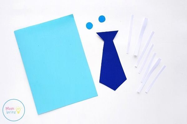 Father's Day Tie Card Template Patterns