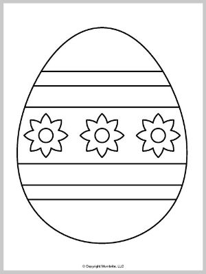 Large Easter Egg Template (2)