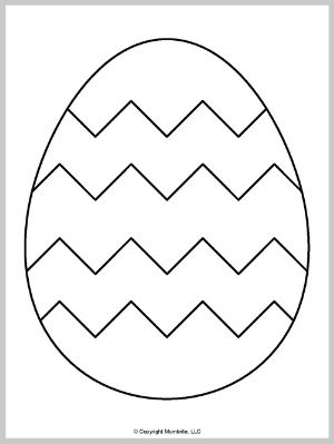 Large Easter Egg Template (3)